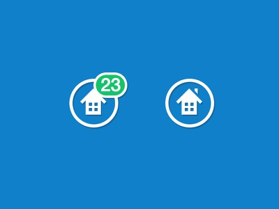 Home Profile icon icon home profile notification