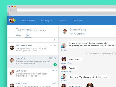 Chat web app  chat webapp app web mail chrome