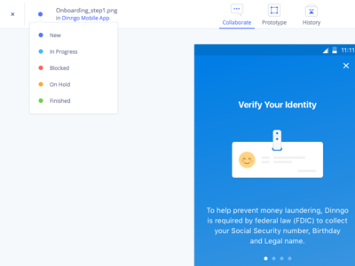 Page Status Evrybo