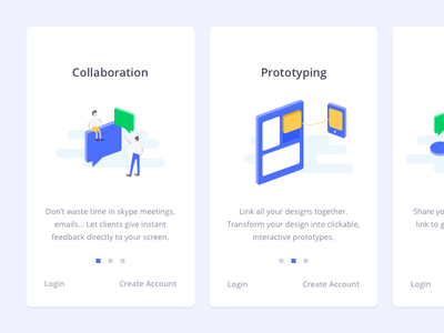 Welcome onboarding isometric illustration illustration isometric onboarding ux ui mobile ios icon flat color application