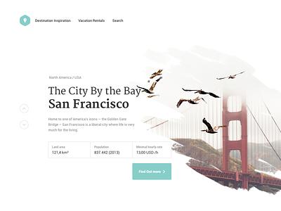 City details landing page webdesign sanfrancisco search ux. ui landing page