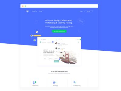 Evrybo Landing page