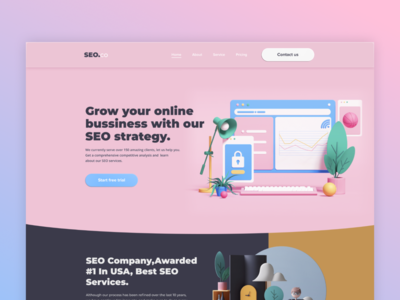 Landing Page for SEO strategy
