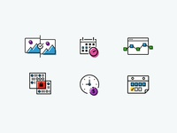 Data Conversion Icons