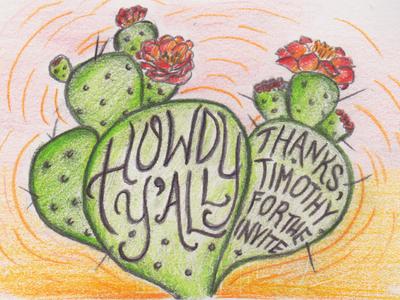 Prickly Pear Howdy