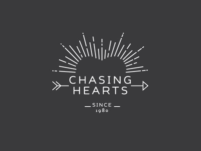 Chasing Hearts Logo Concept