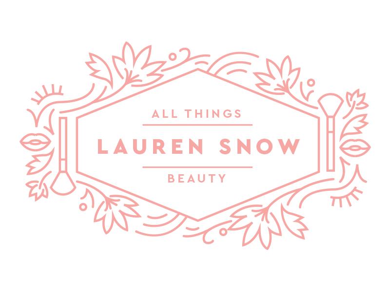 Lauren Snow feminine beauty logo