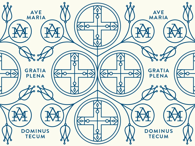 Ave Maria Pattern pattern