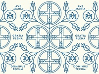 Ave Maria Pattern