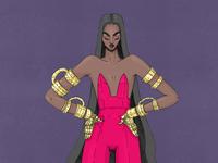 Naomi / Character Design