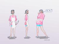 Ice Cream Shop / Concept Design  Character