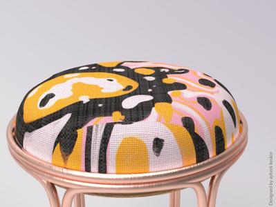 Textile Design / 3D Model n Render