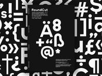 RoundCut - Typeface