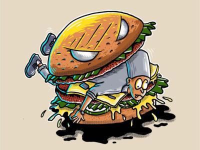 Burger hungry