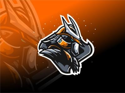 ronin mascot logo