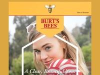 Burts Bees Email Development