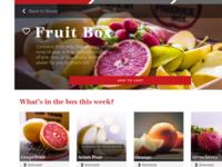 Produce Box UI Design