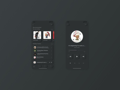 #dailyui #009 - Design a music player