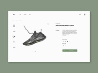 #dailyui #012 - E-Commerce Shop(Single Item)