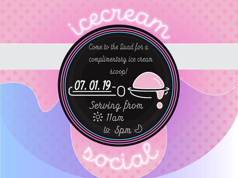 Icecream art design vector illustration adobe illustrator