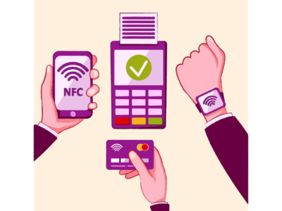 NFC. Contactless payments.