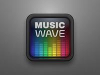 Music Wave iOS Icon