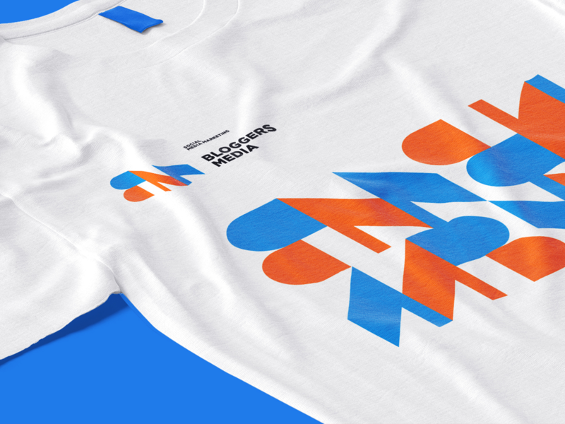 BM logo concept typography design illustration ux ui branding art packaging design logo kyrgyzstan yoyo