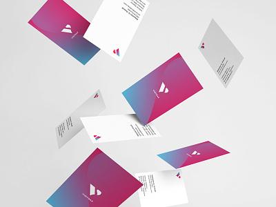 Business Cards brand print identity