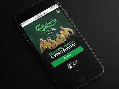 Promotional Website web ui prototyping mobile