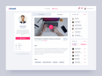 Uknack Jobs Platform Profile Page