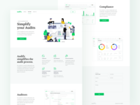 Audify - Landing Page