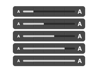 Text scaling indicator overlay revision 2 indicator iphone slider ui usatoday