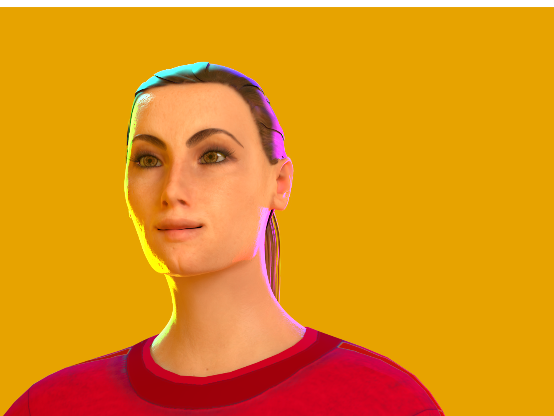 Sasha animation illustration design abstract design character 3d
