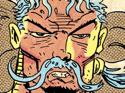 Odysseus homer cartooning