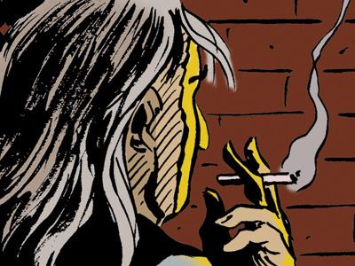 Smoking nix comics cartooning