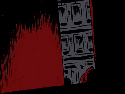 Deserted Alley cartooning noir the mesh