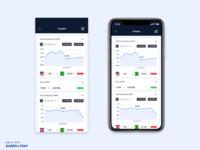Daily UI #018 - Analytics Chart
