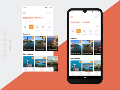 Daily UI #022 - Search