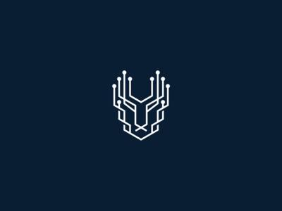 cheetah logo bold strong identity hitech corporate technology logo design animal logo animal branding logo
