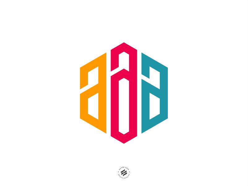 aaa bold brand identity branding design intial logo logo design identity logo