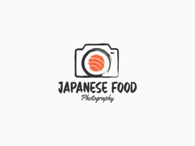 Japanese Food brand identity simple branding strong design logo design illustration logo identity sushi logo japanese food