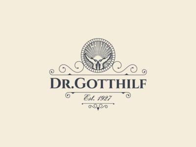 Vintage logo for Dr. Gotthilf