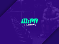 Logo for a personal training company