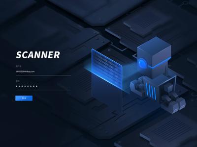 SCANNER  login page