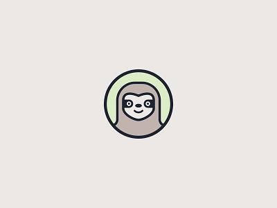 GitSum Sloth Logo git gitsum character sloth logo animal