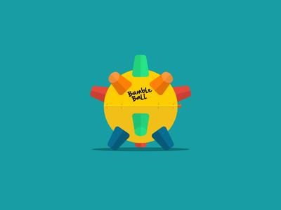 Flat Bumble Ball