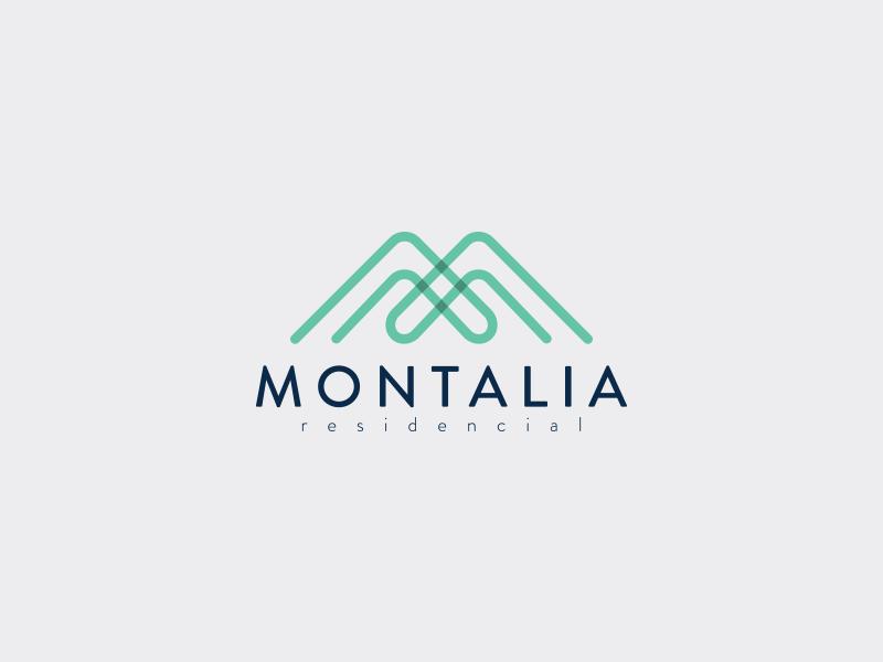 Montalia logo proposal #1 monterrey mexico branding propuesta logotype proposal logo