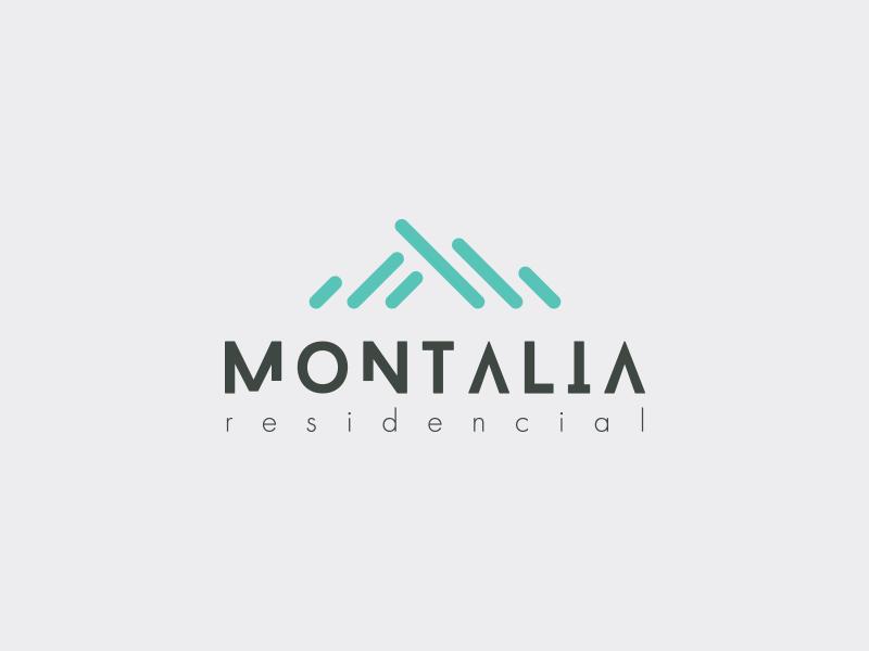 Montalia logo proposal #2 monterrey mexico branding propuesta logotype proposal logo