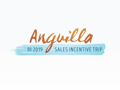 Anguilla 2019 Logo (v2c) typography graphic design logo identity branding