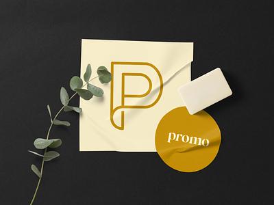 promo - beauty nice vector digital clean typography branding brand logo design